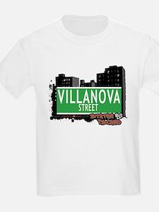 VILLANOVA STREET, STATEN ISLAND, NYC T-Shirt