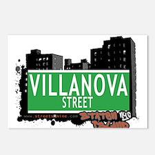 VILLANOVA STREET, STATEN ISLAND, NYC Postcards (Pa