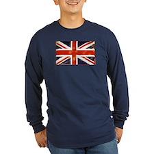 oddFrogg Vintage Union Jack Long Sleeve T
