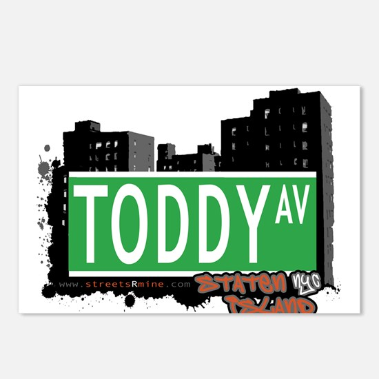 TODDY AVENUE, STATEN ISLAND, NYC Postcards (Packag