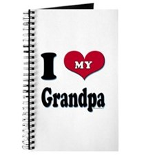 I Love My Grandpa Journal