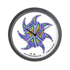 "Peace Sign - 10"" Wall Clock - A"
