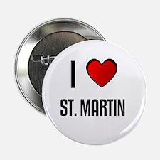 I LOVE ST. MARTIN Button
