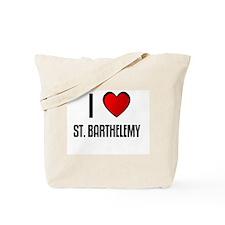 I LOVE ST. BARTHELEMY Tote Bag