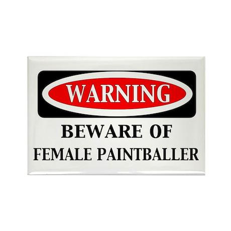 Warning Female Baller Magnet (10 pack)