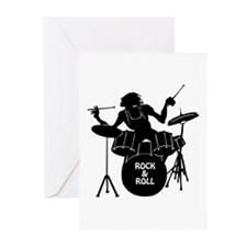 ROCK & ROLL Greeting Cards (Pk of 10)