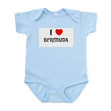 I LOVE BERMUDA Infant Creeper