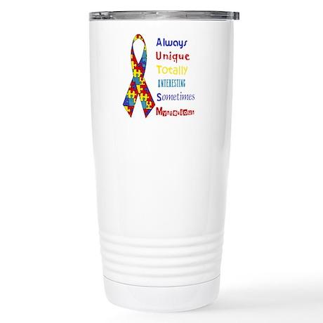 Autism Stainless Steel Travel Mug