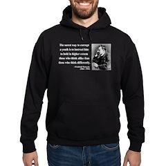 Nietzsche 15 Hoodie (dark)
