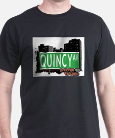 QUINCY AVENUE, STATEN ISLAND, NYC T-Shirt