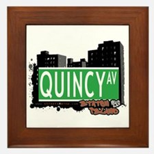 QUINCY AVENUE, STATEN ISLAND, NYC Framed Tile