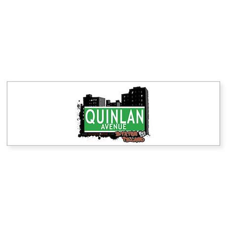 QUINLAN AVENUE, STATEN ISLAND, NYC Sticker (Bumper