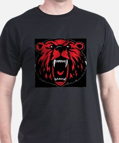 BAW-BEAR-06-Black Tee T-Shirt