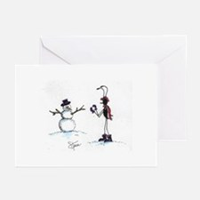 ANT & Snowman Greeting Cards (Pk of 10)