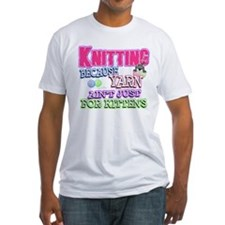 Knitting Kitten Shirt