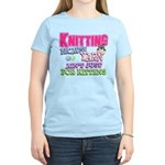Knitting Kitten Women's Light T-Shirt