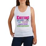 Knitting Kitten Women's Tank Top