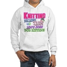 Knitting Kitten Hoodie