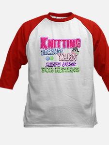Knitting Kitten Tee