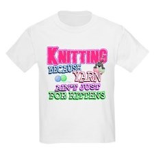 Knitting Kitten T-Shirt