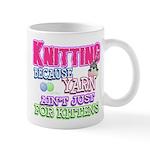 Knitting Kitten Mug