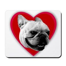 Love French Bulldog Mousepad