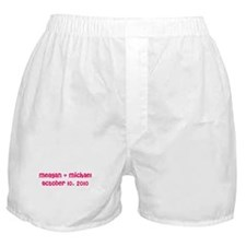 Meagan & Michael October 10, Boxer Shorts