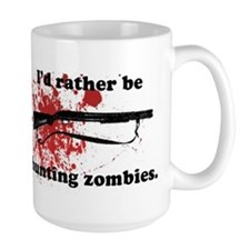 I'd Rather be hunting Zombies Mug