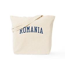 Romania Blue Tote Bag