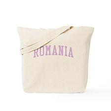 Romania Pink Tote Bag