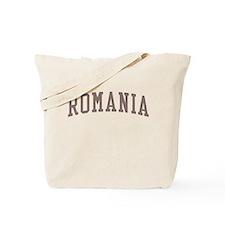 Romania Red Tote Bag