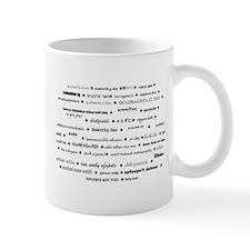 42 languages mug