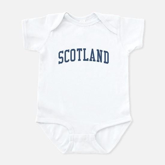 Scotland Blue Infant Bodysuit
