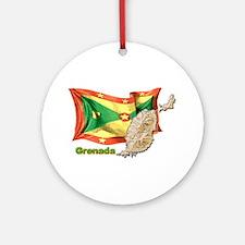 Grenada Ornament (Round)