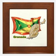 Grenada Framed Tile