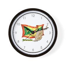Grenada Wall Clock