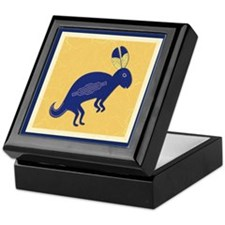 Whimsical Rabbit Keepsake Box