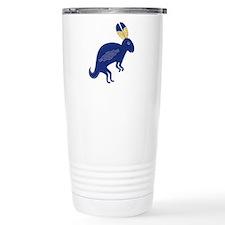 Whimsical Rabbit Travel Mug