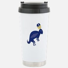 Whimsical Rabbit Travel Mug