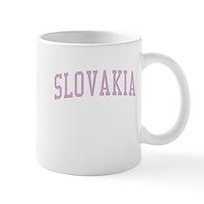 Slovakia Pink Mug