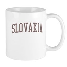 Slovakia Red Mug