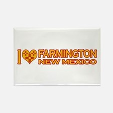I Love Farmington, NM Rectangle Magnet