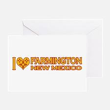 I Love Farmington, NM Greeting Card
