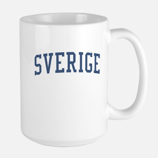 Sweden Blue Large Mug