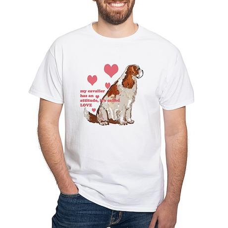 Cavalier love White T-Shirt
