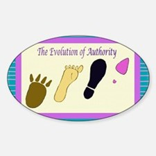 Authority Oval Decal