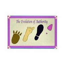Authority Rectangle Magnet (10 pack)