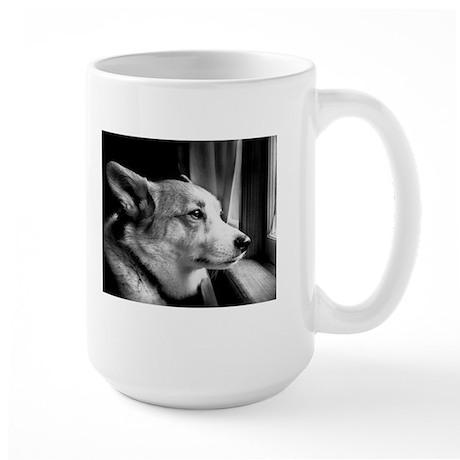 Window Gaze Large Mug