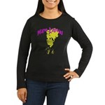 Marie Laveau Women's Long Sleeve Dark T-Shirt