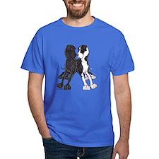 NBlk N Mtl Lean T-Shirt